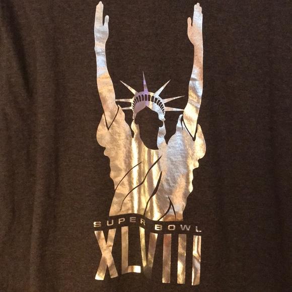 4a76f89b Nike Shirts | Mens Superbowl Xlviii Statue Of Liberty Shirt | Poshmark